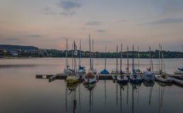 Λιμάνι βραδιού στοκ φωτογραφίες