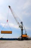 λιμάνι γερανών Στοκ φωτογραφίες με δικαίωμα ελεύθερης χρήσης