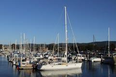 Λιμάνι γιοτ Στοκ φωτογραφία με δικαίωμα ελεύθερης χρήσης