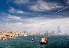 λιμάνι εικονικής παράστα&sigma Στοκ φωτογραφία με δικαίωμα ελεύθερης χρήσης