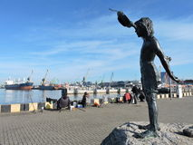 Λιμάνι λιμένων Klaipeda, Λιθουανία Στοκ εικόνα με δικαίωμα ελεύθερης χρήσης