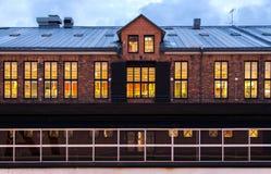 Λιμάνι και αποθήκη εμπορευμάτων τούβλων Στοκ φωτογραφία με δικαίωμα ελεύθερης χρήσης