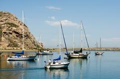 λιμάνι Καλιφόρνιας Στοκ φωτογραφίες με δικαίωμα ελεύθερης χρήσης
