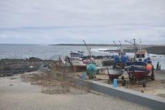 Λιμάνι κοντά στο Λα Santa στοκ εικόνα με δικαίωμα ελεύθερης χρήσης