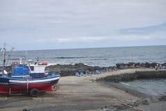 Λιμάνι κοντά στο Λα Santa στοκ φωτογραφία με δικαίωμα ελεύθερης χρήσης