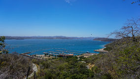 Λιμάνι Κόστα Ρίκα Papagayo Στοκ φωτογραφίες με δικαίωμα ελεύθερης χρήσης