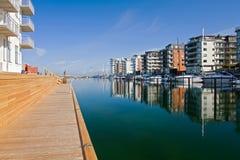 λιμάνι Μάλμοε στοκ φωτογραφία με δικαίωμα ελεύθερης χρήσης