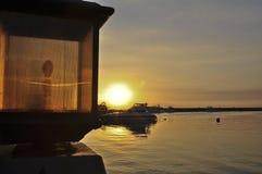 λιμάνι Μανίλα Στοκ φωτογραφίες με δικαίωμα ελεύθερης χρήσης