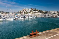 Λιμάνι & μαρίνα Devon Αγγλία UK Torquay στοκ φωτογραφίες