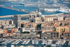 λιμάνι Μασσαλία παλαιά Στοκ Εικόνα