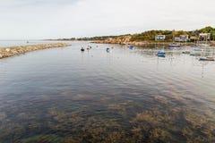 Λιμάνι μΑ Rockport Στοκ Εικόνες