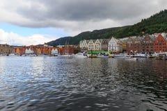 Λιμάνι Μπέργκεν, Νορβηγία στοκ φωτογραφίες με δικαίωμα ελεύθερης χρήσης