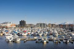 λιμάνι Νορβηγία του Bodo Στοκ εικόνες με δικαίωμα ελεύθερης χρήσης