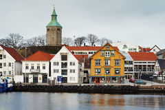 λιμάνι Νορβηγία Stavanger φιλοξεν Στοκ εικόνα με δικαίωμα ελεύθερης χρήσης