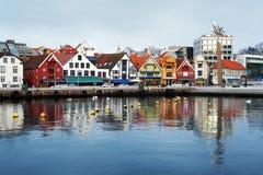 λιμάνι Νορβηγία Stavanger φιλοξεν Στοκ Φωτογραφία