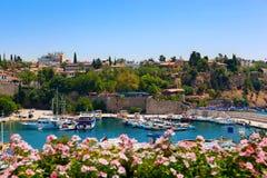 λιμάνι παλαιά Τουρκία antalya Στοκ Εικόνες