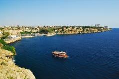 λιμάνι παλαιά Τουρκία antalya Στοκ εικόνα με δικαίωμα ελεύθερης χρήσης