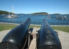 λιμάνι πυλών ράβδων Στοκ εικόνα με δικαίωμα ελεύθερης χρήσης