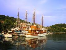 λιμάνι ρομαντικό Στοκ φωτογραφίες με δικαίωμα ελεύθερης χρήσης