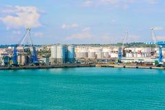 Λιμάνι σε Civitavecchia, Ιταλία Στοκ εικόνα με δικαίωμα ελεύθερης χρήσης