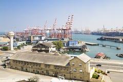 Λιμάνι σε Colombo, Σρι Λάνκα, Στοκ Φωτογραφίες