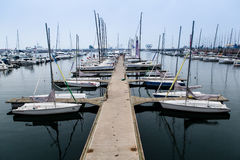 Λιμάνι σε Qindao Στοκ φωτογραφία με δικαίωμα ελεύθερης χρήσης