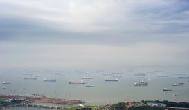 λιμάνι Σινγκαπούρη Στοκ εικόνα με δικαίωμα ελεύθερης χρήσης