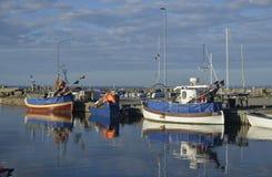 Λιμάνι Σουηδία Hörvik Στοκ φωτογραφία με δικαίωμα ελεύθερης χρήσης