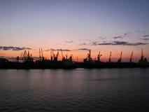 Λιμάνι στην Οδησσός στοκ εικόνα