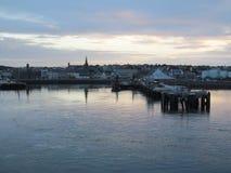 Λιμάνι στη Dawn στοκ φωτογραφία με δικαίωμα ελεύθερης χρήσης