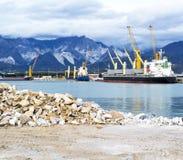 Λιμάνι στο Καρράρα Στοκ Εικόνα
