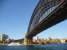 λιμάνι Σύδνεϋ γεφυρών της Αυστραλίας Στοκ Εικόνες