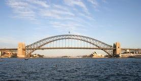 λιμάνι Σύδνεϋ γεφυρών στοκ εικόνες