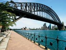 λιμάνι Σύδνεϋ γεφυρών στοκ εικόνα με δικαίωμα ελεύθερης χρήσης