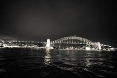 λιμάνι Σύδνεϋ γεφυρών Στοκ φωτογραφία με δικαίωμα ελεύθερης χρήσης