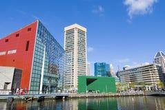 λιμάνι της Βαλτιμόρης εσω&t Στοκ Εικόνα