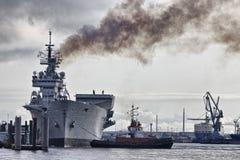 λιμάνι της Γερμανίας Αμβού& Στοκ εικόνες με δικαίωμα ελεύθερης χρήσης