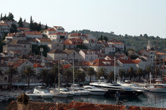 λιμάνι της Κροατίας στοκ φωτογραφία με δικαίωμα ελεύθερης χρήσης