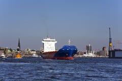 λιμάνι του Αμβούργο Στοκ Εικόνα