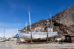 Λιμάνι του Ιλούλισσατ, Γροιλανδία στοκ εικόνες