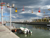 Λιμάνι του Μονπελιέ Στοκ εικόνα με δικαίωμα ελεύθερης χρήσης