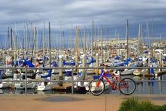Λιμάνι του Μοντερρέυ, Καλιφόρνια Στοκ Εικόνες