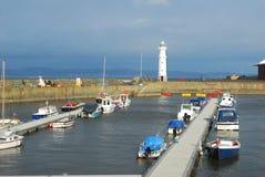 Λιμάνι του Νιού Χάβεν εμπρός στην εκβολή στοκ εικόνες με δικαίωμα ελεύθερης χρήσης