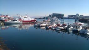 Λιμάνι του Ρέικιαβικ Στοκ φωτογραφίες με δικαίωμα ελεύθερης χρήσης