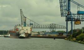 Λιμάνι του Ρότερνταμ στοκ εικόνες με δικαίωμα ελεύθερης χρήσης
