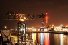 Λιμάνι του Τελ Αβίβ Στοκ φωτογραφία με δικαίωμα ελεύθερης χρήσης