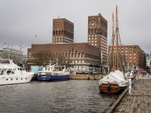 Λιμάνι του Όσλο Στοκ Φωτογραφία