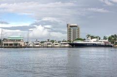 Λιμάνι Φορτ Λόντερντεϊλ Στοκ φωτογραφίες με δικαίωμα ελεύθερης χρήσης