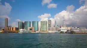 λιμάνι Χογκ Κογκ Βικτώρι&alp Στοκ Εικόνες