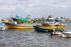 λιμάνι ψαράδων στοκ φωτογραφία με δικαίωμα ελεύθερης χρήσης